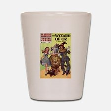 The Wizard of Oz Shot Glass