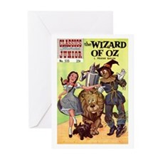 The Wizard of Oz Greeting Cards (Pk of 10)