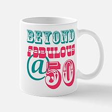 Beyond Fabulous 50th Birthday Mug