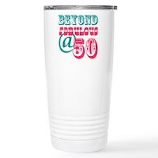 Beyond Fabulous 50th Birthday Travel Mug