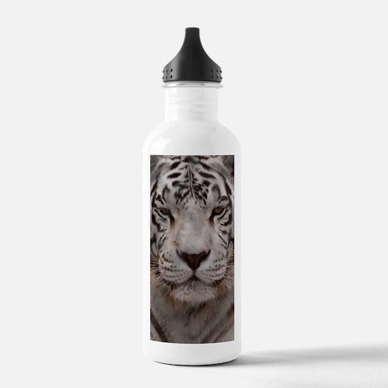 White Tiger 4 Water Bottle