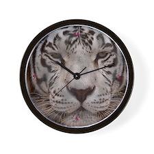 White Tiger 4 Wall Clock