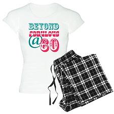 Beyond Fabulous 60th Birthday Pajamas