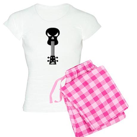 Skull Ukulele Women's Light Pajamas