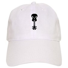 Skull Ukulele Baseball Cap