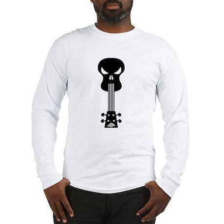 Skull Ukulele Long Sleeve T-Shirt