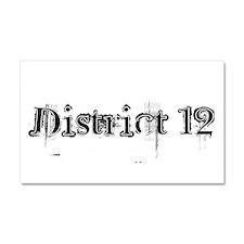 District 12 Car Magnet 20 x 12