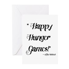 Happy Hunger Games Greeting Cards (Pk of 10)