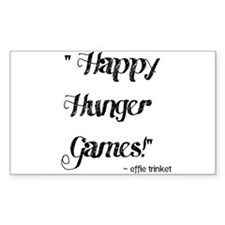 Happy Hunger Games Decal