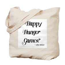 Happy Hunger Games Tote Bag
