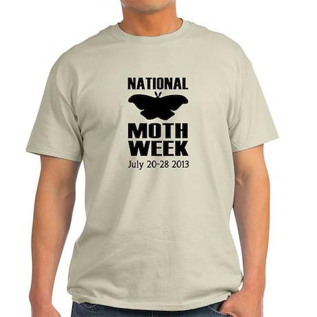 National Moth Week T - Grey
