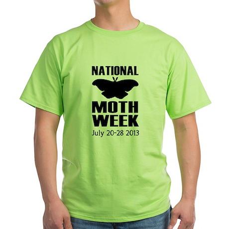 National Moth Week T - Green