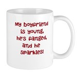 young, fanged, & sparkles Mug
