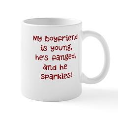 young, fanged, & sparkles Mug