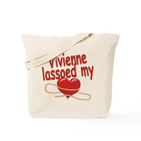 Vivienne Lassoed My Heart Tote Bag