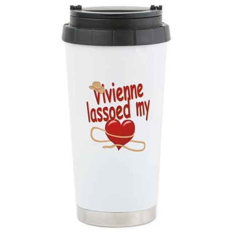 Vivienne Lassoed My Heart Stainless Steel Travel M