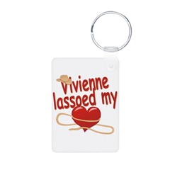 Vivienne Lassoed My Heart Keychains