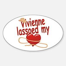Vivienne Lassoed My Heart Decal