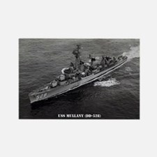 USS MULLANY Rectangle Magnet
