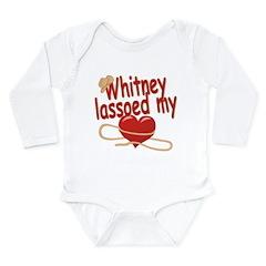 Whitney Lassoed My Heart Long Sleeve Infant Bodysu