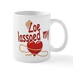 Zoe Lassoed My Heart Mug