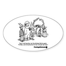 Paralegal In Oz Decal