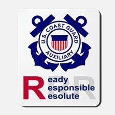 Coast Guard Auxiliary<BR> Mousepad