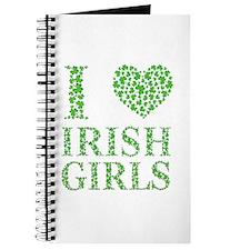 I Love Irish Girls Journal