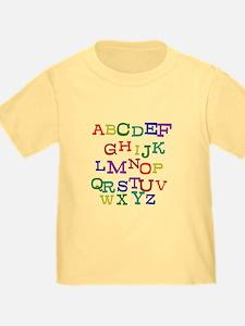 """Alphabet"" - T"