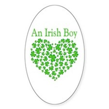 An Irish Boy Decal