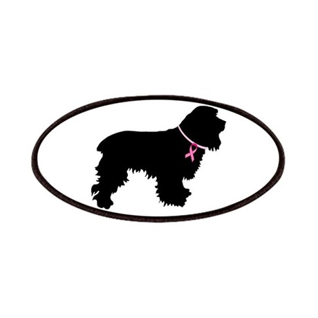 Cocker Spaniel Breast Cancer Support Patches