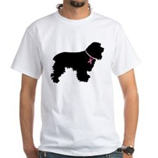 Cocker Spaniel Breast Cancer Support Shirt