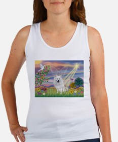 Cloud Angel / Eskimo Women's Tank Top