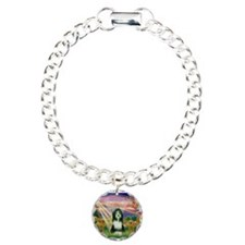 Autumn Angel / Bearded Collie Bracelet