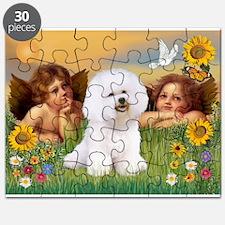 Angels & Bichon Frise Puzzle