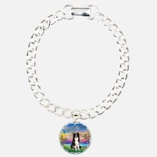 Guardian (#2) / Border Collie Charm Bracelet, One