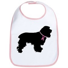 Cocker Spaniel Breast Cancer Support Bib
