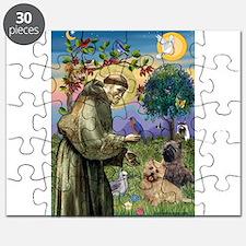 St Francis / Cairn Terrier Puzzle