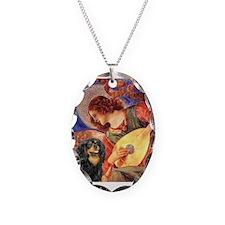 Mandolin Angel / Cavalier (BT Necklace Oval Charm