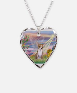 Cloud Angel / Chihuahua (f) Necklace