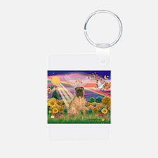 Autumn Angel /Shar Pei Keychains