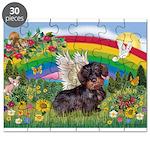 Rainbow Bright / Dachshund (w Puzzle