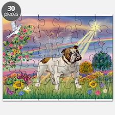 Cloud Angel / Bulldog Puzzle