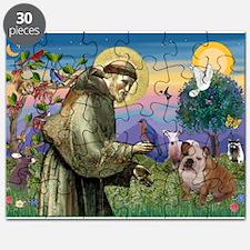 St Francis / Bulldog Puzzle