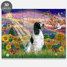 Cloud Angel / English Springe Puzzle