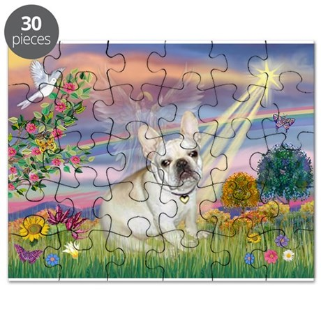 Cloud Angel / French Bulldog Puzzle