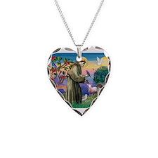 Saint Francis /German SHP Necklace