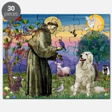 St Francis / Great Pyrenees Puzzle