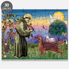 St Francis / Irish Setter Puzzle