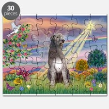 Cloud angel / Wolfhound(g) Puzzle